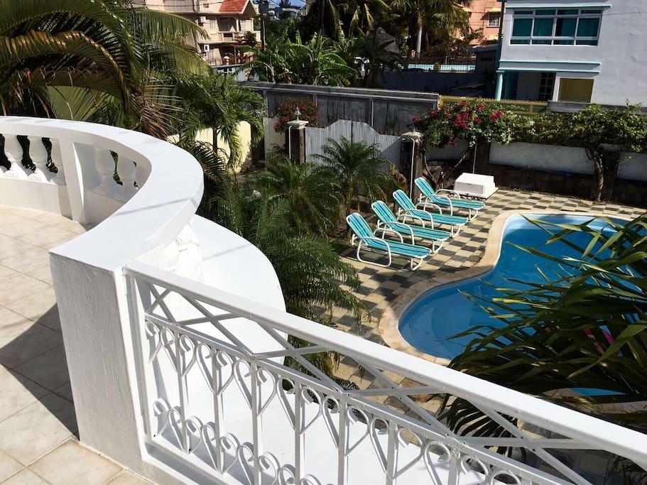 Splendide villa pereyb re avec piscine priv e villas for Campement a louer a maurice avec piscine pereybere