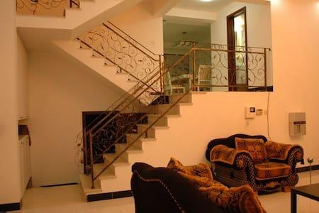 优雅别墅,5房3厅3卫1车库1院子,安亭老街旁,地铁11号线800米,适合家庭与聚会 - Shanghaï
