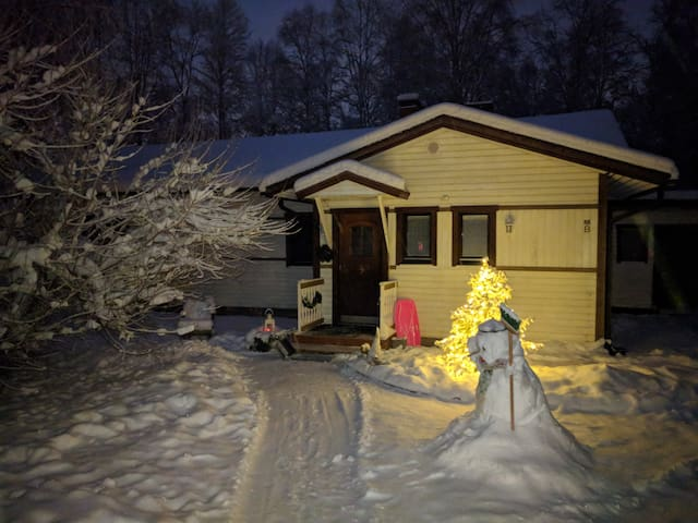 Little House in Rovaniemi 75 m2 with sauna