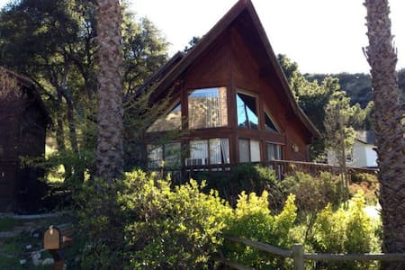 fantastic chalet under oak trees - Castaic - Stuga