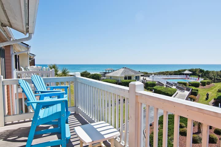 Emerald Isle Pebble Beach Oceanfront Condo
