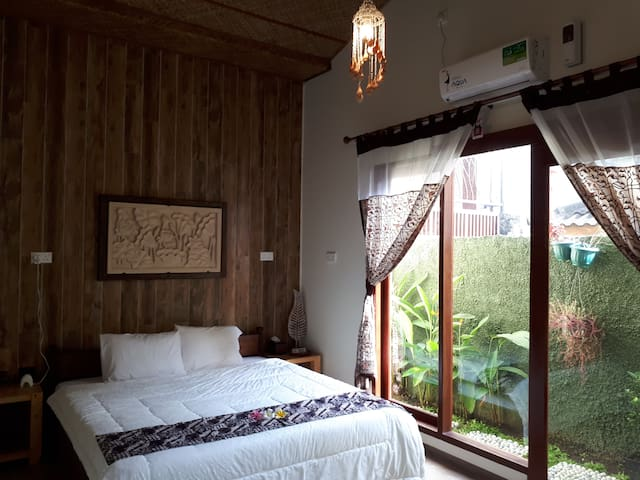 Our bed room 3, with batik touch.