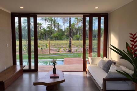 Landscape: Casa nova em Condomínio Moderno