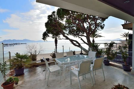 Beach front Aprtment with dinning terrace - Illes Balears - Appartement