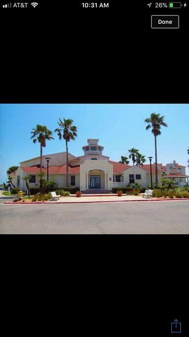 Entrance to Beach Club