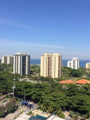 Barra da Tijuca Beautiful apartment ocean view