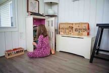 Toy Box and Doll House