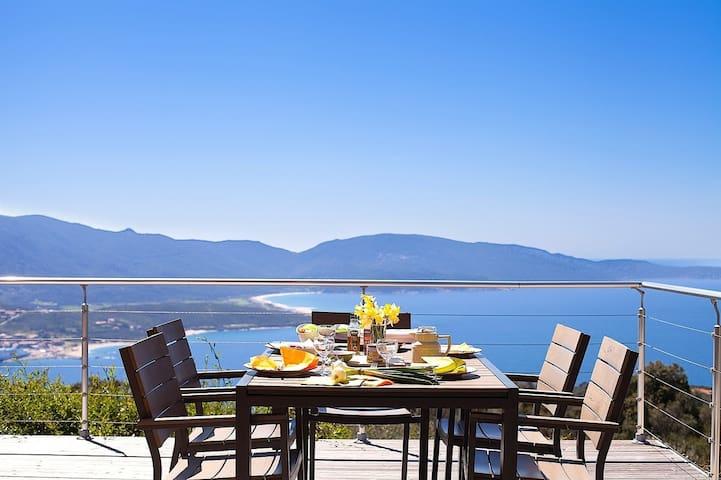 Belvedere over the Mediterranean - Olmeto - วิลล่า