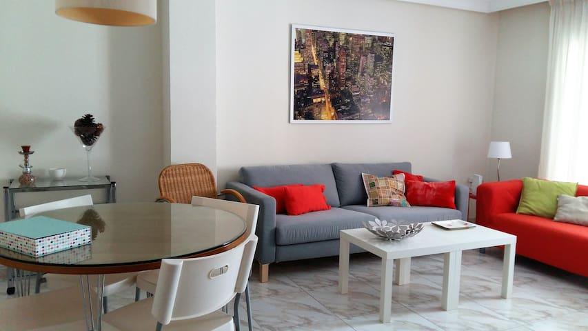Piso de 3 habitaciones espacioso y muy confortable - Murcia - Daire