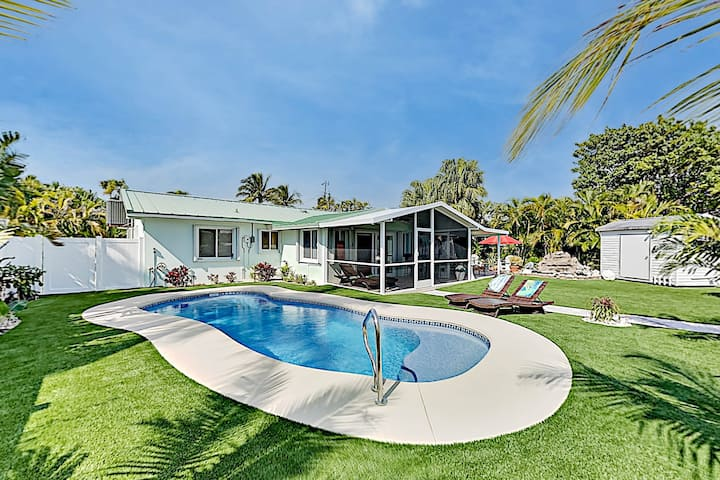 Exquisite Canal-Side Home | Pool & Waterfront Patio