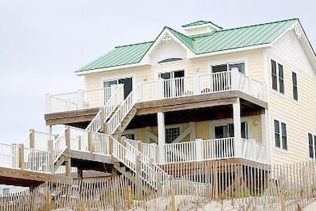 Green Roof - Oceanfront Property - North Topsail Beach