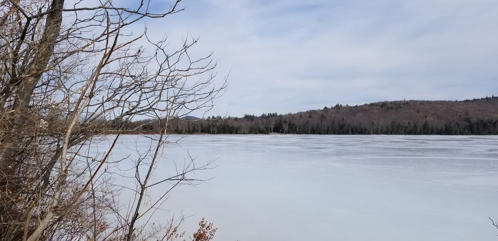One of the first lakes to freeze in the winter