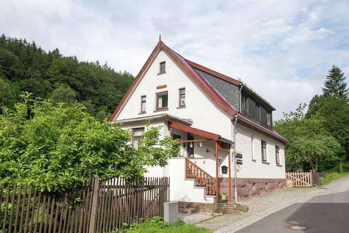 Spaziosa casa vacanze a Unterschönau vicino alla foresta