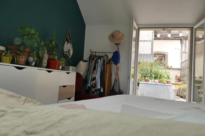 Superbe duplex cosy avec terrasse centre ville