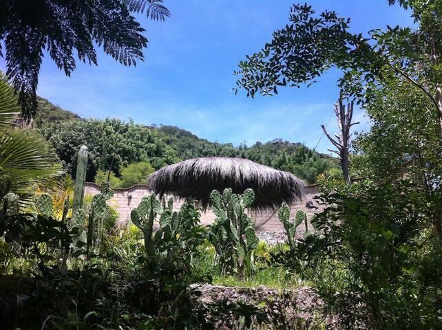 Majestuosa casa dentro de una cueva natural - Taxco - Dům