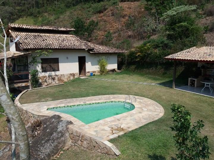 Casa com vista panoramica - Permitido  animais