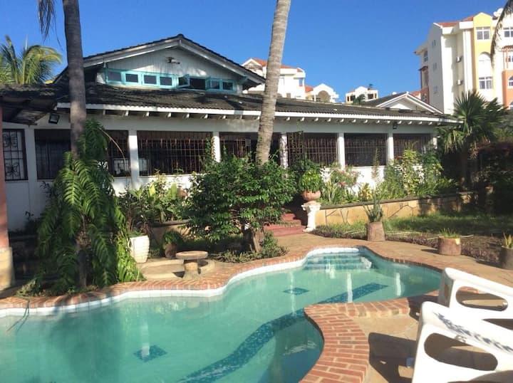 Lovely Villa At English Point Marina in Nyali, Msa