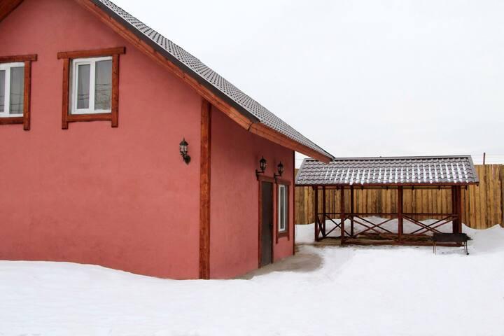 Дом для отдыха с баней