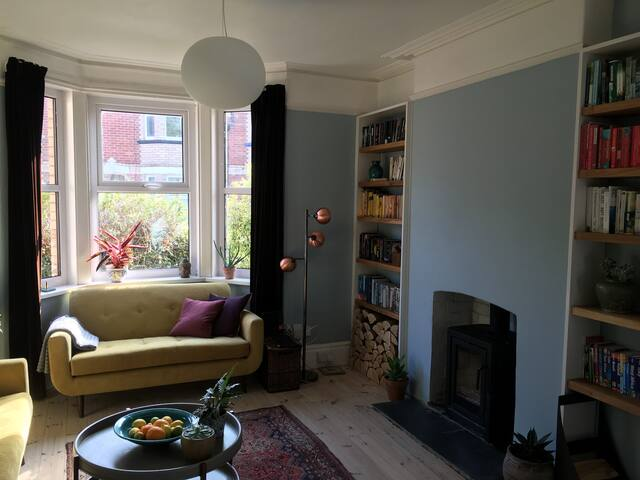 Room in a beautiful house in central Exeter