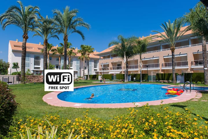 Javea Golden Gardens Arenal- Airco, Wi-Fi & Pools - Platja de l'Arenal - Apartment
