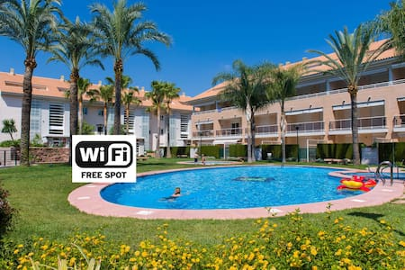 Javea Golden Gardens Arenal- Airco, Wi-Fi & Pools - Platja de l'Arenal - อพาร์ทเมนท์