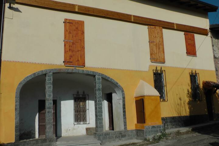 Elegante casa di campagna - Gabiano - Hus
