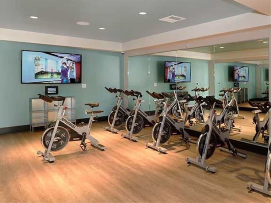 Apartment Complex Spinning Room