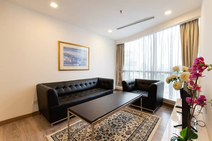 Perfect location #1, Twin-Bed 2 Pax@KL City Ctre