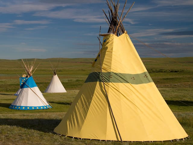 Large Blackfoot Tipi