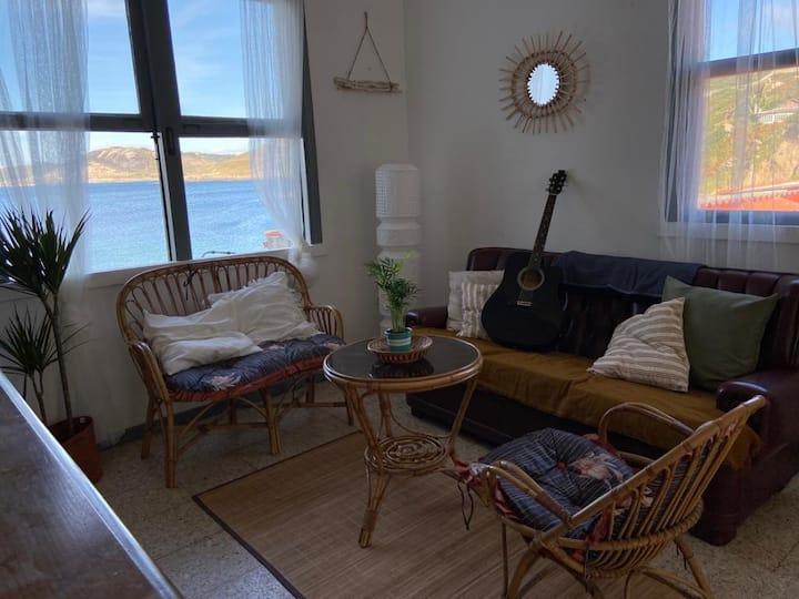 La casita en el mar,A Coruña