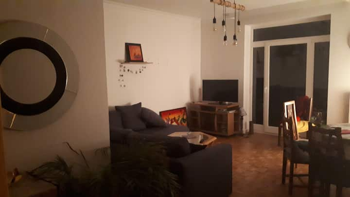 Bedroom in appartment with terrasse in Septhanie