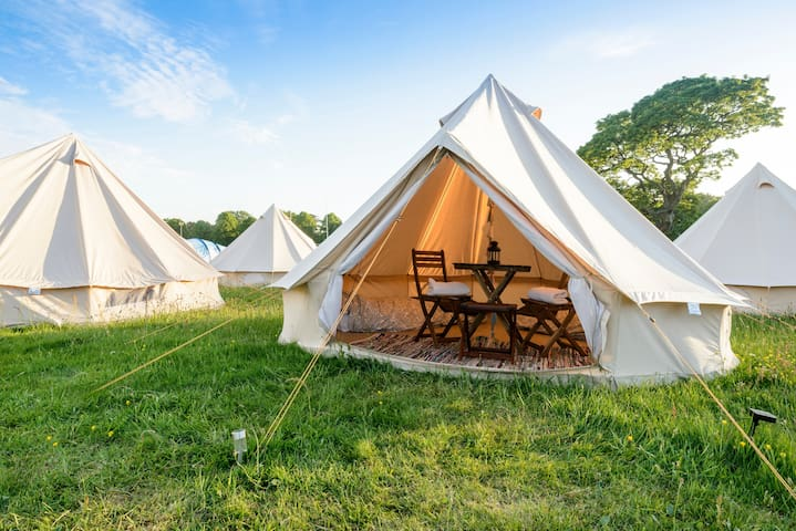 2 person Glamping Bell Tent @ Lendy Cowes Week