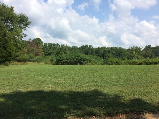 Tent space on 42 acre farm available for eclipse!