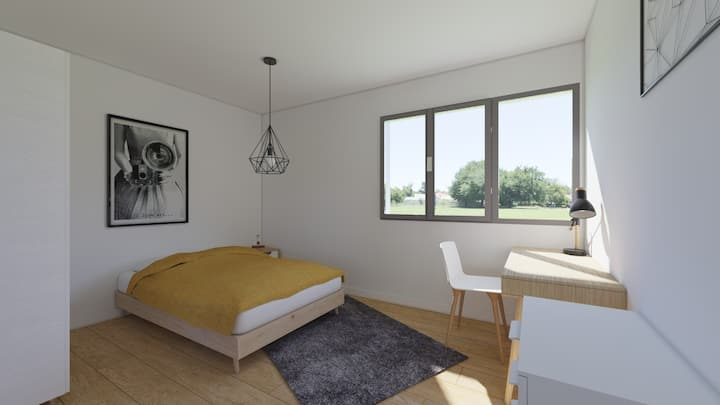 Room near CHU Henri mondor and Paris 2