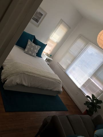 Modest and clean room