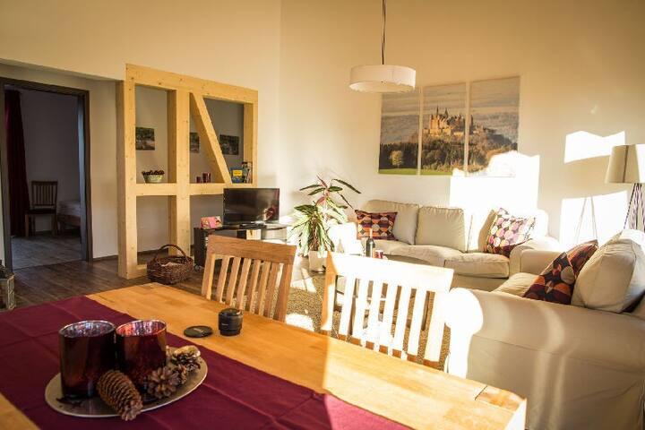 Lindenhof, (Dormettingen), Ferienwohnung, 70 qm, 2 Schlafzimmer, max. 4 Personen