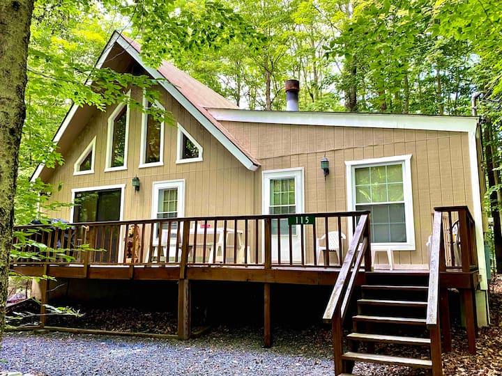 Pocono Retreat, Arrowhead Lake, Relaxation