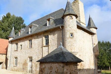 Manoir de Lachaud - Meilhards - Castell