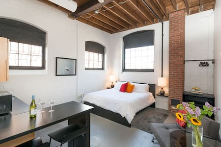 Stylish Loft in a Historic Mill - Providence