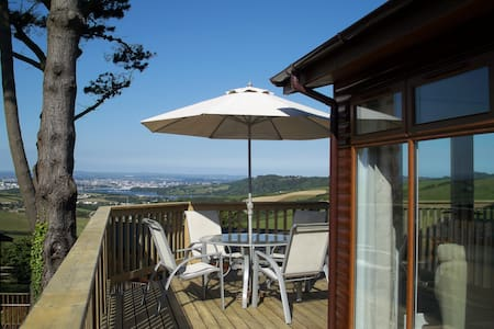 3 bedroom lodge at Whitsand Bay. - Millbrook , near Torpoint - Kisház