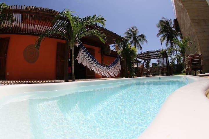 Aloha casa de praia - Amontada - Huis