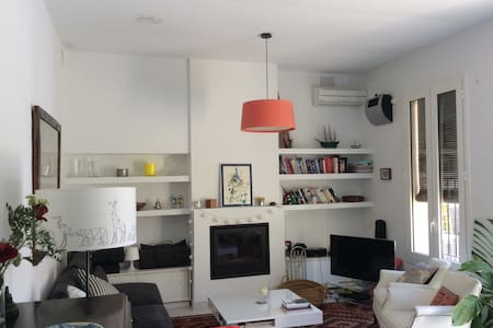 Charming apartment with garden - Barcelona - Huoneisto