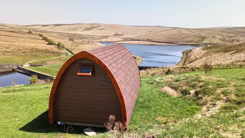 The Moorlands Glamping Pod