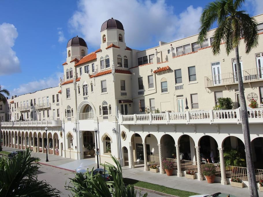 Front of Palm Beach Hotel