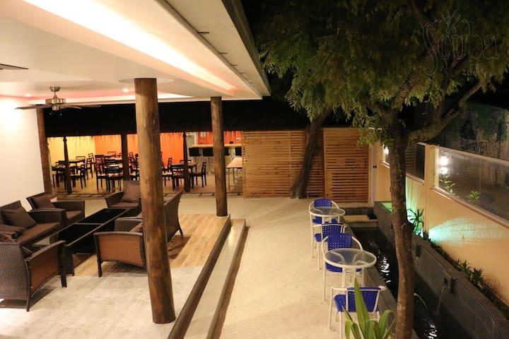 Scuba Inn Guest house, Omadhoo island, Ari atoll