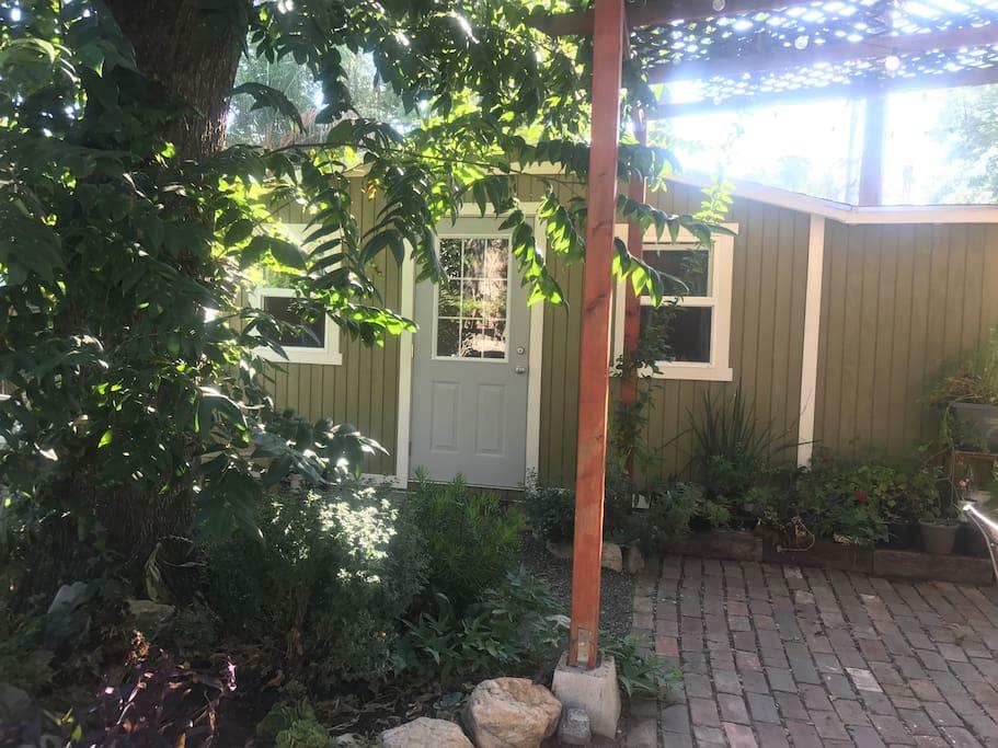 Entrance to Tiny house