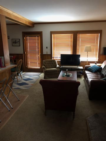 Sunny and Historic Soda Springs Condo!