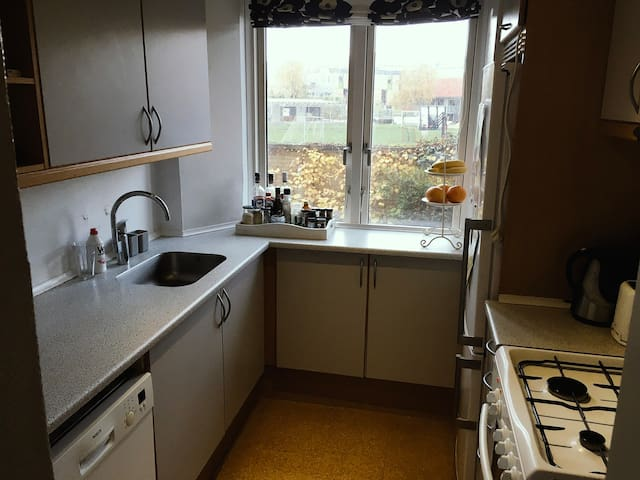 Quiet cosy flat 10 min from city centre