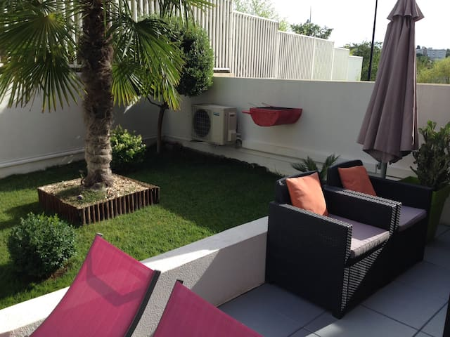Appartement Cosy Montpellier et son jardin