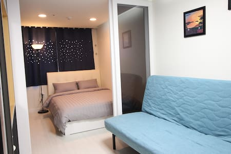 SC[Airport 1.7km, DutyFS 1km]1 Queen Bed Residence